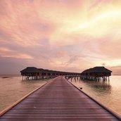 Maldivian beach Wallpaper