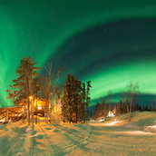 YellowKnife Aurora Village(Canada)