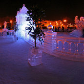 Ice Palace replica(Russia)