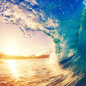 Ocean wave wallpaper